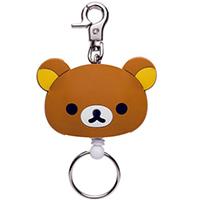 San-X 懶懶熊 臉型伸縮鑰匙圈