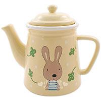 法國兔陶瓷茶壺