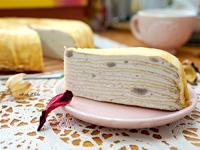 拉拉_鮮奶純芋千層蛋糕