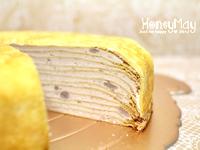 HoneyMay_鮮奶純芋千層蛋糕