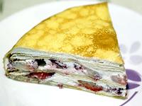 雪倫_草莓多千層蛋糕
