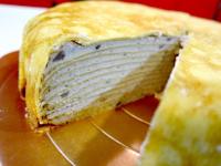 mina_鮮奶純芋千層蛋糕