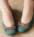 絨布芭蕾舞鞋