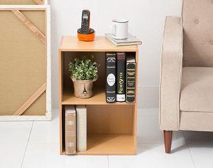 環保材質繽紛收納二層櫃(六色)