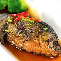 江浙經典蔥(火靠)鯽魚2隻 300~400g