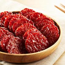 月見炙燒豬肉乾+原味杏仁香脆肉紙+特厚蜜汁豬肉乾