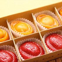 雙喜好運到禮盒 (8入) + 阿Q黑糖糕禮盒(700g)
