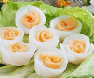 生食玫瑰鮭魚花枝