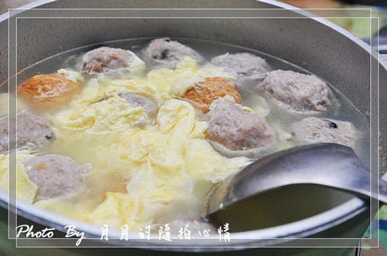 蛋花鮮肉丸湯,男女老少都會喜歡~