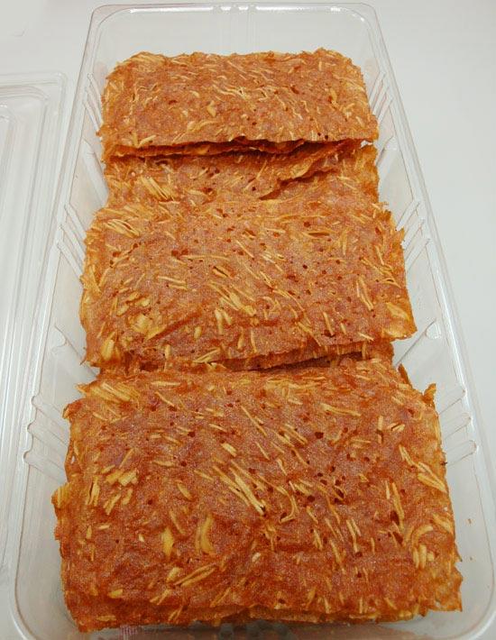 快車肉乾-杏仁香脆肉紙