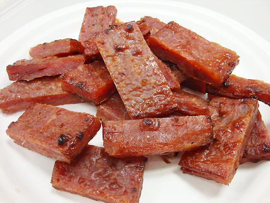 快車肉乾-招牌特厚豬肉乾