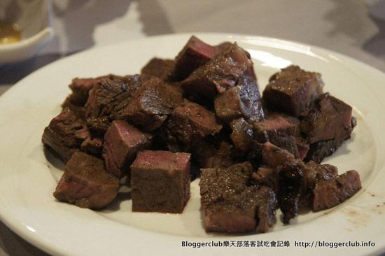 當天試吃的牛肉