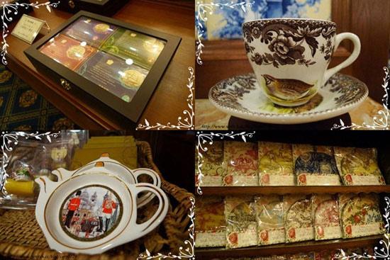 一樓是販售許多精品茶具。