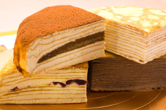 美食王特推【塔吉特】A款綜合口味千層蛋糕