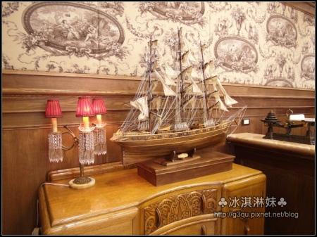 店名 卡提薩克 就是取自紅茶黃金時代的「卡提薩克號」的運茶船