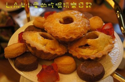 有別於日洋式風味的蛋糕,手井老師走的是非常家常、樸實的英式風。