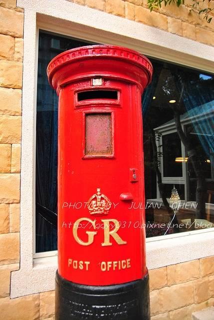 大郵筒聽說也是百年老物
