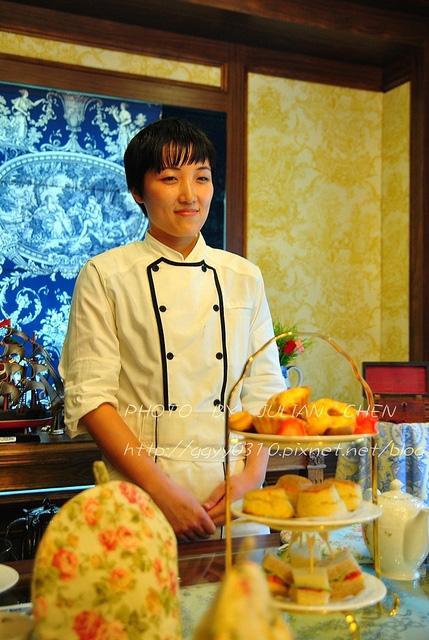 此次茶會的點心,是由手井梨惠老師製作