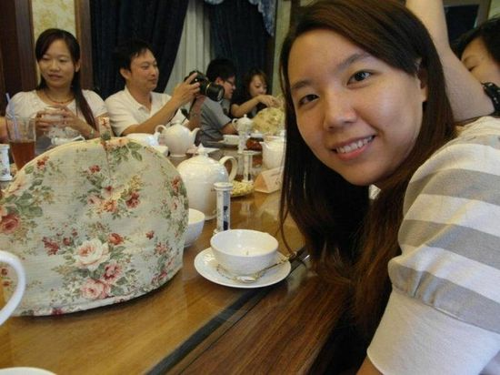 陳小韻開心的模樣,我們都在等待自己泡一壺好茶
