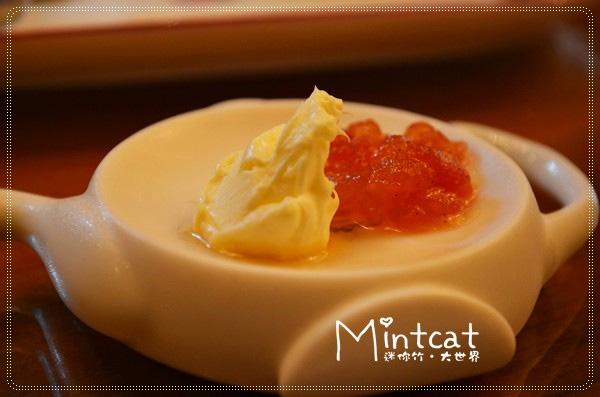 特製的番茄玫瑰果醬,味道更是豐富又美味