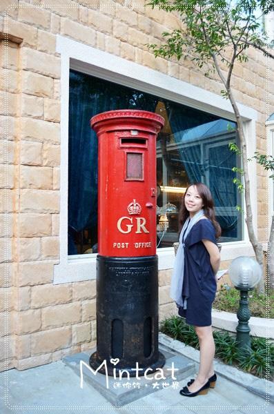 這郵筒真的好可愛,據說是飄洋過海的古董!