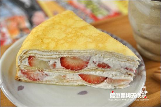 除了草莓多之外,蛋皮和奶油口感都不錯。