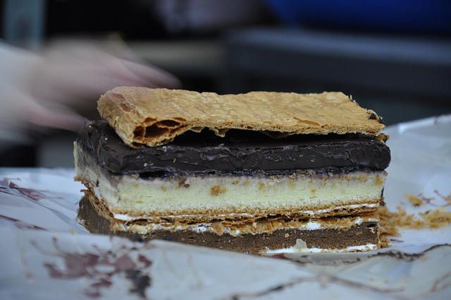 拿破崙先生,蛋糕提點,巧克力千層派