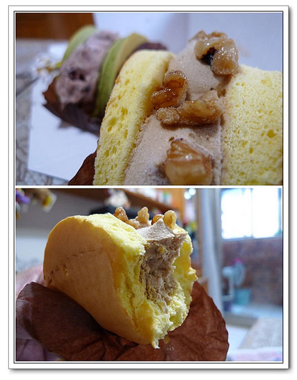 部落客,拿破崙蛋糕,鮮奶芋頭,蛋捲燒,牛奶原味,香濃生巧克力,宇治抹茶紅豆,純濃咖啡核桃,