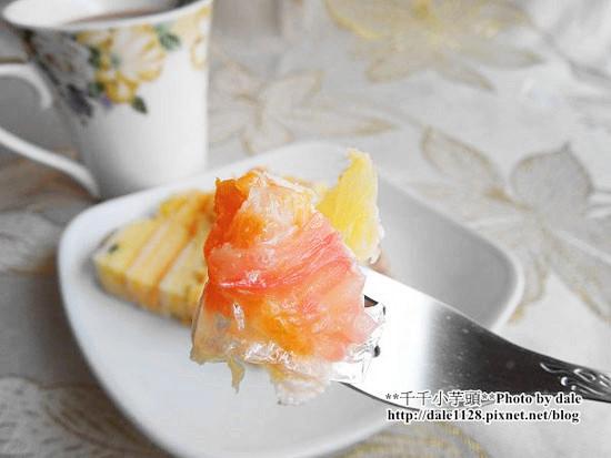 部落客,冬季繽紛水果蛋糕,草莓,木瓜,杏桃,百香果,海綿蛋糕,布丁