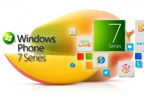 Windows phone7.5芒果系統要登場啦~