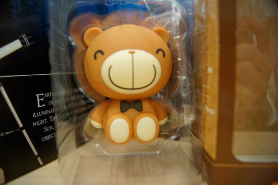 巧克力熊讀卡機登場啦