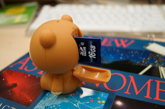 巧克力熊:頭好痛阿頭好痛阿!