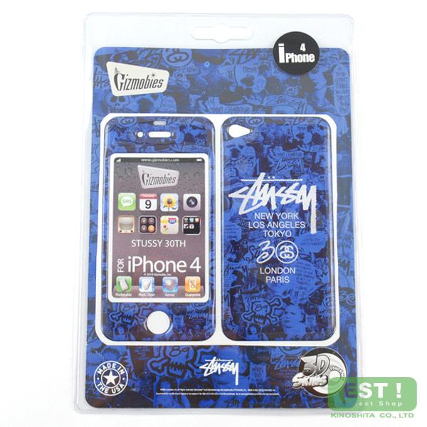 潮流品牌Stussy推出的I phone 4手機保護貼