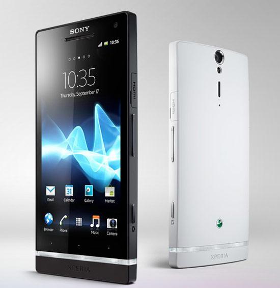 Sony Xperia S上市將提供黑、白兩色可選擇,採取弧形設計,提供舒適的操作手感。