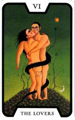 塔羅測驗 the lovers
