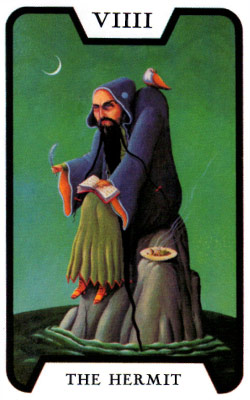塔羅測驗 the hermit
