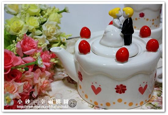 部落客,Pattern Safari 圖樣狩獵隊,結婚蛋糕茶壺茶杯組