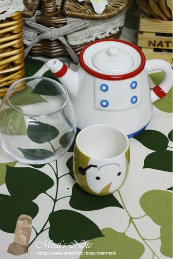部落客,Pattern Safari 圖樣狩獵隊,太空人茶壺茶杯組