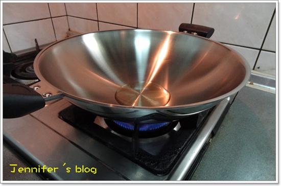 部落客,WOKY,玫瑰金炒鍋,鍋蓋,鍋鏟,不鏽鋼鍋,不沾鍋