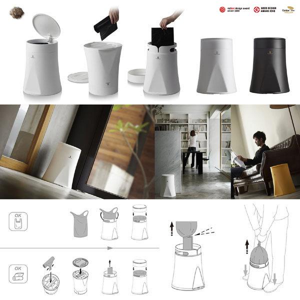 gift365,禮物,設計,辦公室小物,創意小物,垃圾懂