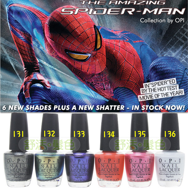 ☆OPI The Amazing Spider-Man☆ OPI 蜘蛛人系列