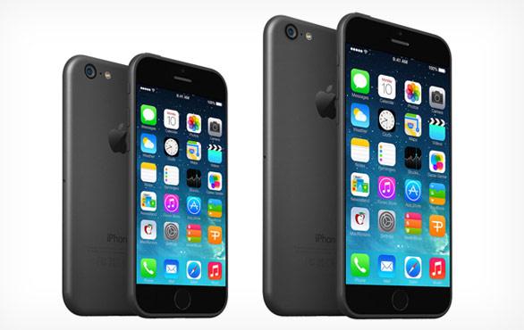 ▲網路流傳iPhone 6將推出兩種尺寸:4.7吋及5.5(或5.7)吋(圖/取自網路)