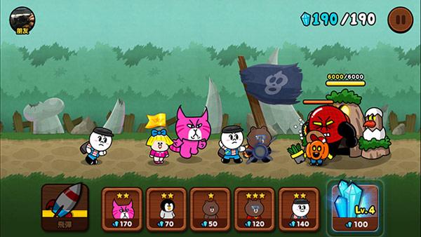 ▲Rangers會自動攻擊,玩家要懂得派出適合的角色(圖/手機截圖)