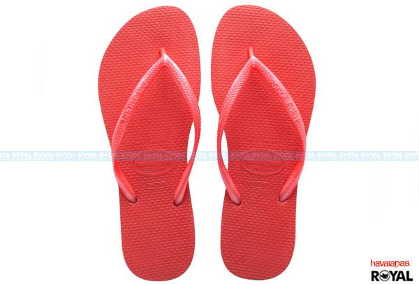 ▲巴西 havaianas 紅色 珠光 人字拖鞋 女款