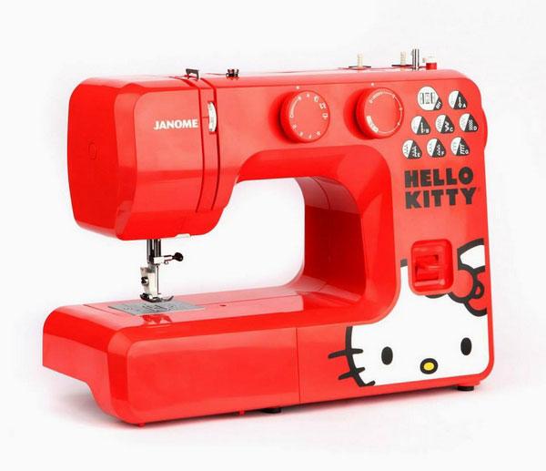 hellokitty40週年限定,hellokitty週年紀念商品,hellokitty居家小物,Hellokitty品牌合作,hellokitty裁縫機