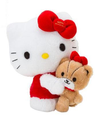 Hello Kitty 40週年限定絨毛玩偶