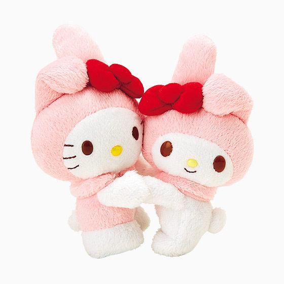 Hello Kitty 40週年限定美樂蒂玩偶