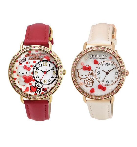 Hello Kitty 40週年紀念系列手錶