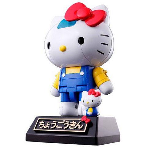 Hello Kitty超合金機器人玩具公仔