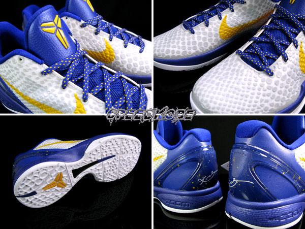 """Nike Zoom Kobe VI """"LA Laker Home"""" Kobe Bryant代言曼巴蛇紋籃球鞋"""